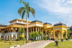 Παλάτι σουλτάνου σε Medan Στοκ Φωτογραφία