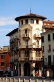 Παλάτι στην αρχή του δρόμου που οδηγεί στη βασιλική του ST Anthony στην Πάδοβα στο Βένετο (Ιταλία) Στοκ φωτογραφία με δικαίωμα ελεύθερης χρήσης