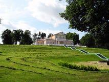 Παλάτι στην πόλη Strelna στη Ρωσία στοκ εικόνες με δικαίωμα ελεύθερης χρήσης