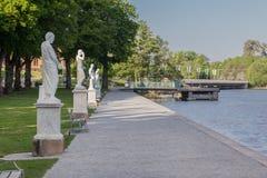 Παλάτι Στοκχόλμη Σουηδία Drottningholm Στοκ Εικόνα