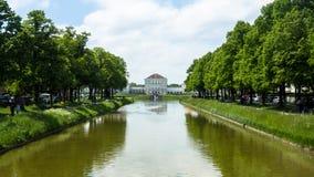 παλάτι της Γερμανίας nymphenburg Στοκ Φωτογραφία