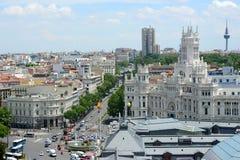 Παλάτι της επικοινωνίας, Μαδρίτη, Ισπανία Στοκ Εικόνα