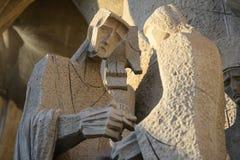 Παλάτι της ιερά οικογένειας/Sagrada Familia Στοκ Εικόνα