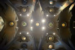 Παλάτι της ιερά οικογένειας/Sagrada Familia Στοκ εικόνες με δικαίωμα ελεύθερης χρήσης