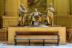 Παλάτι της δικαιοσύνης - Βρυξέλλες, Βέλγιο Στοκ φωτογραφία με δικαίωμα ελεύθερης χρήσης