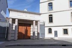 Παλάτι της δικαιοσύνης, Γενεύη Στοκ Φωτογραφίες