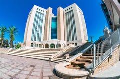 Παλάτι της δικαιοσύνης σε Beersheba, Ισραήλ στοκ εικόνες