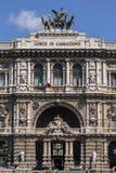Παλάτι της δικαιοσύνης στη Ρώμη, Ιταλία Στοκ εικόνες με δικαίωμα ελεύθερης χρήσης