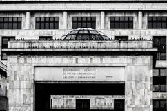 Παλάτι της δικαιοσύνης της Κολομβίας Στοκ φωτογραφία με δικαίωμα ελεύθερης χρήσης