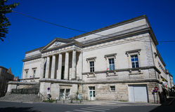 Παλάτι της δικαιοσύνης του Angouleme, Γαλλία Στοκ Εικόνα