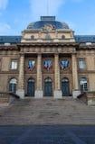 Παλάτι της δικαιοσύνης Στοκ εικόνα με δικαίωμα ελεύθερης χρήσης