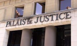 Παλάτι της δικαιοσύνης Στοκ Φωτογραφία