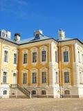 παλάτι της Λετονίας rundale στοκ φωτογραφίες
