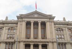 Παλάτι της Χιλής της δικαιοσύνης στο Σαντιάγο Στοκ φωτογραφίες με δικαίωμα ελεύθερης χρήσης
