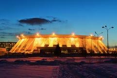 Παλάτι του αθλητισμού πάγου στη Ρωσία Στοκ φωτογραφίες με δικαίωμα ελεύθερης χρήσης