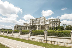 Παλάτι του Κοινοβουλίου - Βουκουρέστι, Ρουμανία Στοκ φωτογραφία με δικαίωμα ελεύθερης χρήσης