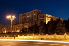 Παλάτι του Κοινοβουλίου, Βουκουρέστι Στοκ Φωτογραφία