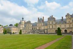 Παλάτι του Φοντενμπλώ στη Γαλλία Στοκ φωτογραφίες με δικαίωμα ελεύθερης χρήσης