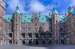 Παλάτι του Frederiksborg, Δανία Στοκ Εικόνες