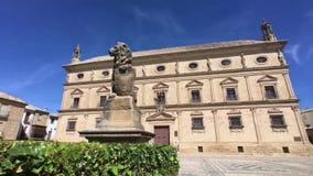 Παλάτι του Juan Vazquez de Molina, Ubeda, Ισπανία απόθεμα βίντεο
