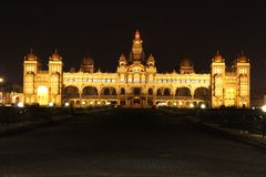 Παλάτι του Mysore, Ινδία Στοκ φωτογραφίες με δικαίωμα ελεύθερης χρήσης