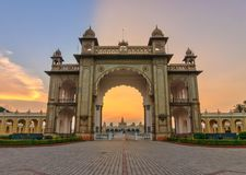 Παλάτι του Mysore, Ινδία στοκ φωτογραφίες
