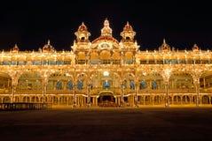 Παλάτι του Mysore, Ινδία Στοκ εικόνα με δικαίωμα ελεύθερης χρήσης