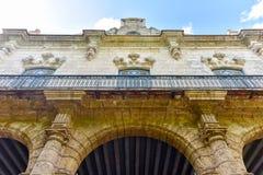 Παλάτι των καπετάνιων γενικών - Αβάνα, Κούβα Στοκ φωτογραφία με δικαίωμα ελεύθερης χρήσης