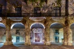 Παλάτι των καπετάνιων γενικών - Αβάνα, Κούβα Στοκ εικόνα με δικαίωμα ελεύθερης χρήσης