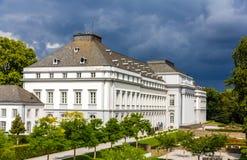 Παλάτι των ψηφοφόρων πριγκήπων της Τρίερ σε Koblenz Στοκ φωτογραφία με δικαίωμα ελεύθερης χρήσης