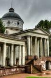 Παλάτι Arkhangelskoe, ναός Yusupov και υπόγειος θάλαμος ενταφιασμών Στοκ Φωτογραφία
