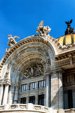 Παλάτι Artes Bellas Στοκ Φωτογραφίες