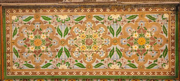 Παλάτι Bahia λεπτομέρεια Μαρακές Μαρόκο στοκ εικόνες με δικαίωμα ελεύθερης χρήσης