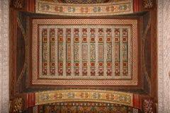 Παλάτι Bahia λεπτομέρεια Μαρακές Μαρόκο στοκ εικόνες