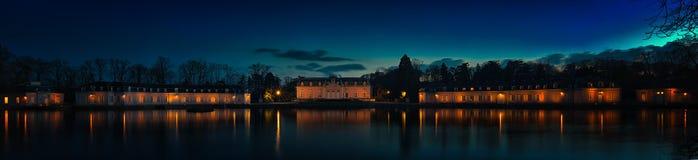 Παλάτι Benrath Στοκ Εικόνες