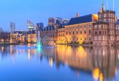 Παλάτι Binnenhof στη Χάγη (Χάγη) Στοκ Εικόνες