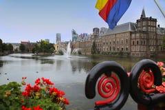Παλάτι Binnenhof, Χάγη, Κάτω Χώρες Στοκ φωτογραφία με δικαίωμα ελεύθερης χρήσης