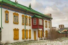 Παλάτι Bogdkhaan, χειμερινό παλάτι του Bogd Khan στοκ εικόνες