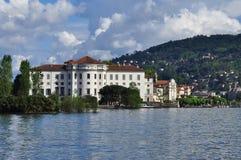 Παλάτι Borromeo. Isola Bella, λίμνη Maggiore Στοκ εικόνα με δικαίωμα ελεύθερης χρήσης