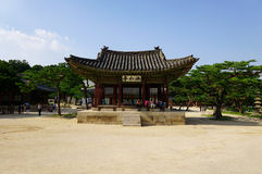 Παλάτι Chang kyeong στη Σεούλ στοκ εικόνα