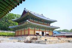 Παλάτι Changdeokgung στις 17 Ιουνίου 2017 στην πόλη της Σεούλ, Νότια Κορέα στοκ φωτογραφίες με δικαίωμα ελεύθερης χρήσης