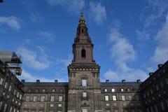 Παλάτι Christianborg Στοκ Εικόνες
