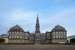 Παλάτι Christiansborg στην Κοπεγχάγη, Δανία Στοκ φωτογραφία με δικαίωμα ελεύθερης χρήσης