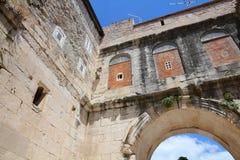 Παλάτι Diocletian, διάσπαση Στοκ εικόνα με δικαίωμα ελεύθερης χρήσης