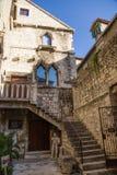 Παλάτι Diocletian (περιοχή κληρονομιάς της ΟΥΝΕΣΚΟ) Στοκ Εικόνα