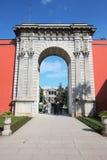 Παλάτι Sarayi Dolmabahce στη Ιστανμπούλ στοκ εικόνες με δικαίωμα ελεύθερης χρήσης