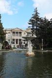 Παλάτι Sarayi Dolmabahce στη Ιστανμπούλ στοκ φωτογραφία με δικαίωμα ελεύθερης χρήσης