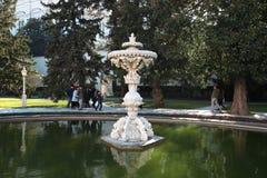 Παλάτι Sarayi Dolmabahce στη Ιστανμπούλ στοκ εικόνες