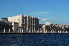 Παλάτι Sarayi Dolmabahce στη Ιστανμπούλ στοκ εικόνα