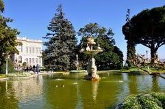 Παλάτι Dolmabahce στοκ εικόνα με δικαίωμα ελεύθερης χρήσης